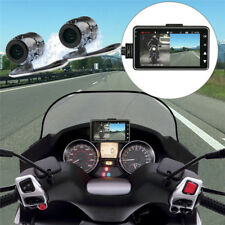 "Motorcycle 3"" LCD Waterproof Dual Action Lens DVR Logger Camera Video Recorder"