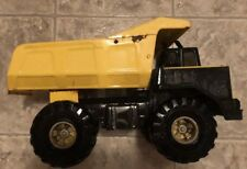 1999 Vintage Metal Tonka Mighty Big Yellow Dump Truck