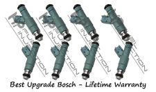 Rebuilt Genuine Bosch 4 Hole Upgrade Fuel Injector Set Ford Mercury Plug & Play