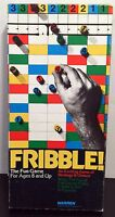 Fribble! Exciting Game of Chance Strategy Chance Board Game Warren 1978 Vintage