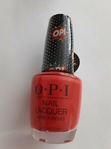 O-P-I Pop Culture  Nail Lacquer - OPI POPS! - 0.5oz SEALED W/TAG Red