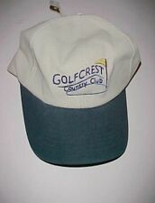 Golfcrest Country Club Pearland Texas Adult Unisex Baseball Khaki Cap One Size