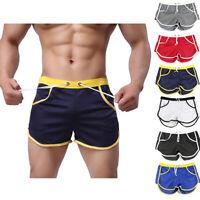 Men's Summer Swim Shorts Swimwear Swimming trunks Underwear Boxer Briefs pants