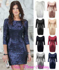 Unbranded Mini Dresses for Women with Sequins
