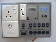 CARAVAN 12 VOLT CONTROL ZIG PANEL SOCKETS SWITCH BATTERY  MOTORHOME SWIFT CAMPER