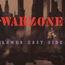 WARZONE Lower east side CD (1996 Victory) New!