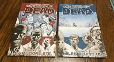 The Walking Dead Volumes 1 & 2 Robert Kirkman Very Good Condition