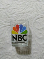 "NBC PEACOCK LOGO SHOT GLASS - 2.50"" TALL drink alcohol whiskey bourbon vodka"