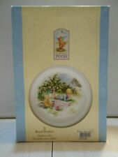 NOSTALGIC Classic Pooh Bear 3 Piece Dinnerware Set Toddler's Collection W/Box