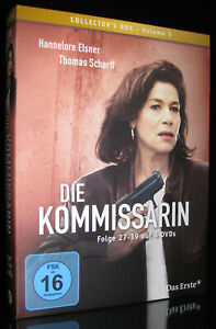 DVD DIE KOMMISSARIN - VOLUME 3 - Folge 27-39 - HANNELORE ELSNER + THOMAS SCHARFF