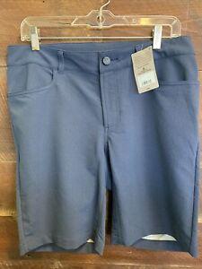 Pearl Izumi Vista Short Fitted 32 Navy Jean Short Nylon Polyester