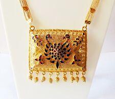 20631c1b1fab Indian étnico nupcial Haar Collar Chapado en Oro 18k Joyería de bollywood  party wear