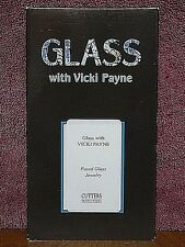 Glass with Vicki Payne - Fused Glass Jewelry 2003 VHS Video Art / Craft Design