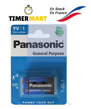 Batteria Panasonic 9v 6F22B Batteria 9V Block