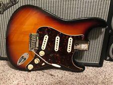 95 Fender American Stratocaster Loaded BODY Strat Custom Shop Pickups & TBX! USA