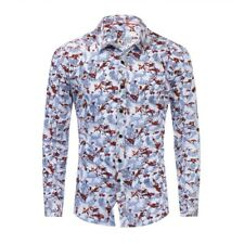 New Mens Fashion Casual Long Sleeves Cotton Formal Button Down Shirts CA6556