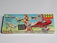 1956 Hawk Plastic Models 4 Famous Racing Planes 1/4 Inch Scale Models New Sealed