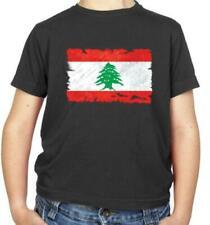 Lebanon Flag Kids T-Shirt - Beirut - Lebanese - Republic - Flags - Country