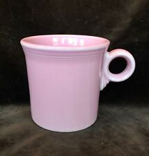 Fiesta Ware Rose Pink Tom & Jerry Ring Handle Mug