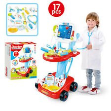 NEW Doctor Pretend Play Set W/Electric Analog X-ray Screen&Stethoscope Kids Toy