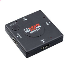 HDMI 3in 1Out Pigtail Adapter HDMI Auto Switch Extender Switcher Splitter HubVB