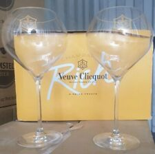 2 X Very Rare Limited Edition veuve clicquot champagne glases CE Brand New Bar