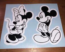 Minnie And Mickey Car Window Decal Set Disney Two Pieces