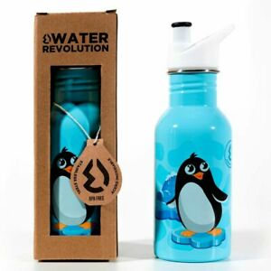 Water Bottle Penguins Penguin Stainless Steel Bottle 500ml Water Revolution