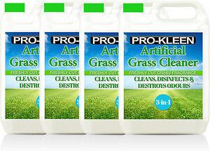 ARTIFICIAL GRASS CLEANER FAKE LAWN ASTRO TURF PET DISINFECTANT DEODORISER 20L