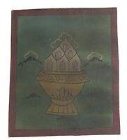 Tsakli Cinabro Quadro Starter Thangka Tibetano Mongolia Tibet- 2588