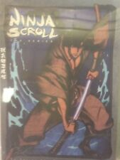 Ninja Scroll DVD English or Japanese Audio Episodes 1-13 With English Subtitles
