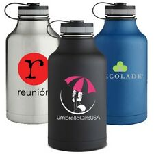 24 Custom Printed 64 oz Water Bottles, Bulk Promotional Products, Party Favors