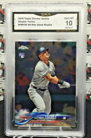 GLEYBER TORRES RC ROOKIE 2018 TOPPS CHROME UPDATE  #HMT80 YANKEES F22