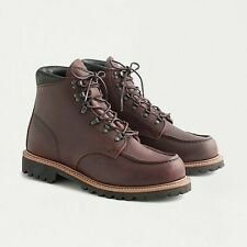 """Red Wing Heritage 6"""" Sawmill Moc Toe Briar Oil Slick Leather Boots 2927 10.5"""