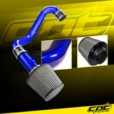 01-05 Civic DX/LX Manual 1.7L Blue Cold Air Intake + Stainless Steel Filter