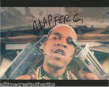 RAPPER A.$.A.P FERG HAND SIGNED AUTHENTIC 8X10 PHOTO B w/COA ASAP MOB TRAP LORD