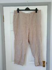 Size 16S Beige Loose Linen Trousers From TU Bnwot