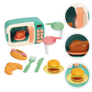 1 Set Practical Lovely Safe Durable Microwave Oven Toy