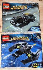 LEGO BATMAN batwing & Tumbler Non Aperto Nuovi pacchetti DC Super Heroes