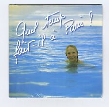 CD SINGLE (NEUF) ISABELLE AUBRET QUEL TEMPS FAIT IL A PARIS