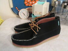 Eastland Urban Outfitters Oneida 1955 Shoe Boots Suede  Mocassin Black size 10 D