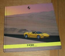 Ferrari 430 Spider Hardback Brochure Book 2005-2008 - F430 inc F1