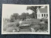 Herb Garden at Carlton Brook, Randolph New Hampshire Vintage Postcard
