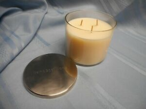 BATH & BODY WORKS TWISTED PEPPERMINT SCENTED CANDLE 3 WICK SLATKIN & CO