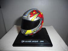 CGP 47 OLIVIER JACQUE 2000 MOTO BIKE GP COLLECTION HELMETS ALTAYA IXO 1/5