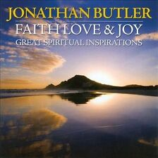 NEW - Faith, Love & Joy: Great Spiritual Inspirations by Jonathan Butler