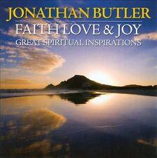 NEW - Faith, Love & Joy: Great Spiritual Inspirations by Jonathan Butler