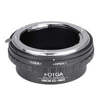 Nikon G AFS Lens to M4/3 Adapter For EM10 EM5 EM1 EPL7 GF7 GF6 Olympus Panasonic