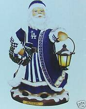 "Los Angeles Dodgers Olde World Santa Figurine 9"" NEW In BOX CHRISTMAS FAN GIFT"