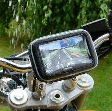 "Bicicleta Monte Motocicleta Caso Para  3.5"" 4.3"" Garmin Nuvi, TomTom GPS Imperme"